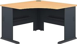 Bush Business Furniture Series A 48W Corner Desk in Beech and Slate