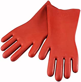 Echodo 12KV Safety Electrical Protective Insulated Gloves Rubber Insulating Gloves 1 Pairs