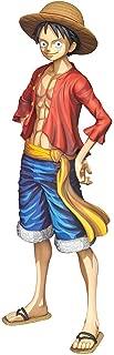 Monkey D. Luffy [Manga Dimensions]: 27cm Banpresto Grandista Statue Figurine & 1 D.B. Trading Card Bundle (35831)