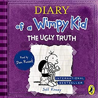 The Ugly Truth     Diary of a Wimpy Kid, Book 5              Written by:                                                                                                                                 Jeff Kinney                               Narrated by:                                                                                                                                 Dan Russell                      Length: 2 hrs and 25 mins     Not rated yet     Overall 0.0