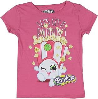 Shopkins Little Girls Let's Get it Poppin' Poppy Corn T-Shirt