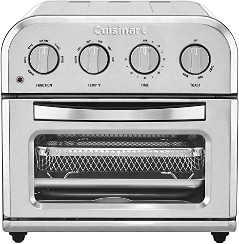 new arrival Cuisinart online Convection Toaster Oven Airfryer, wholesale Compact, Silver online