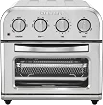 Cuisinart TOA-28 Compact Toaster Oven Airfryer, Silver