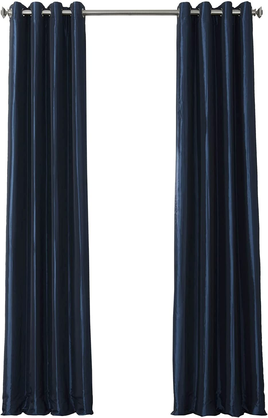 HPD Half Price Drapes Rapid rise Grommet Faux Nashville-Davidson Mall PTCH-BO194010-108-GR Blackout