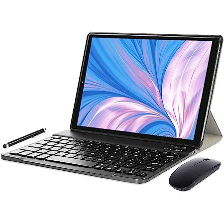 YOTOPT N10 Tablet 10 Pulgadas, Android 10.0 Procesador Octa-Core 1.6Ghz SC9863 4G LTE Tablet, 4GB RAM, 64GB ROM Tablets con Teclado y Ratón, ...