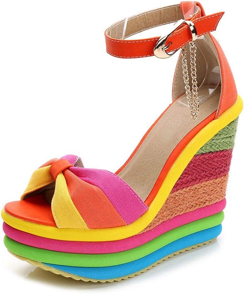 Max 44% OFF SaraIris Sandals for Women Gladiator Popular popular High Ankle Heel Strap Platf