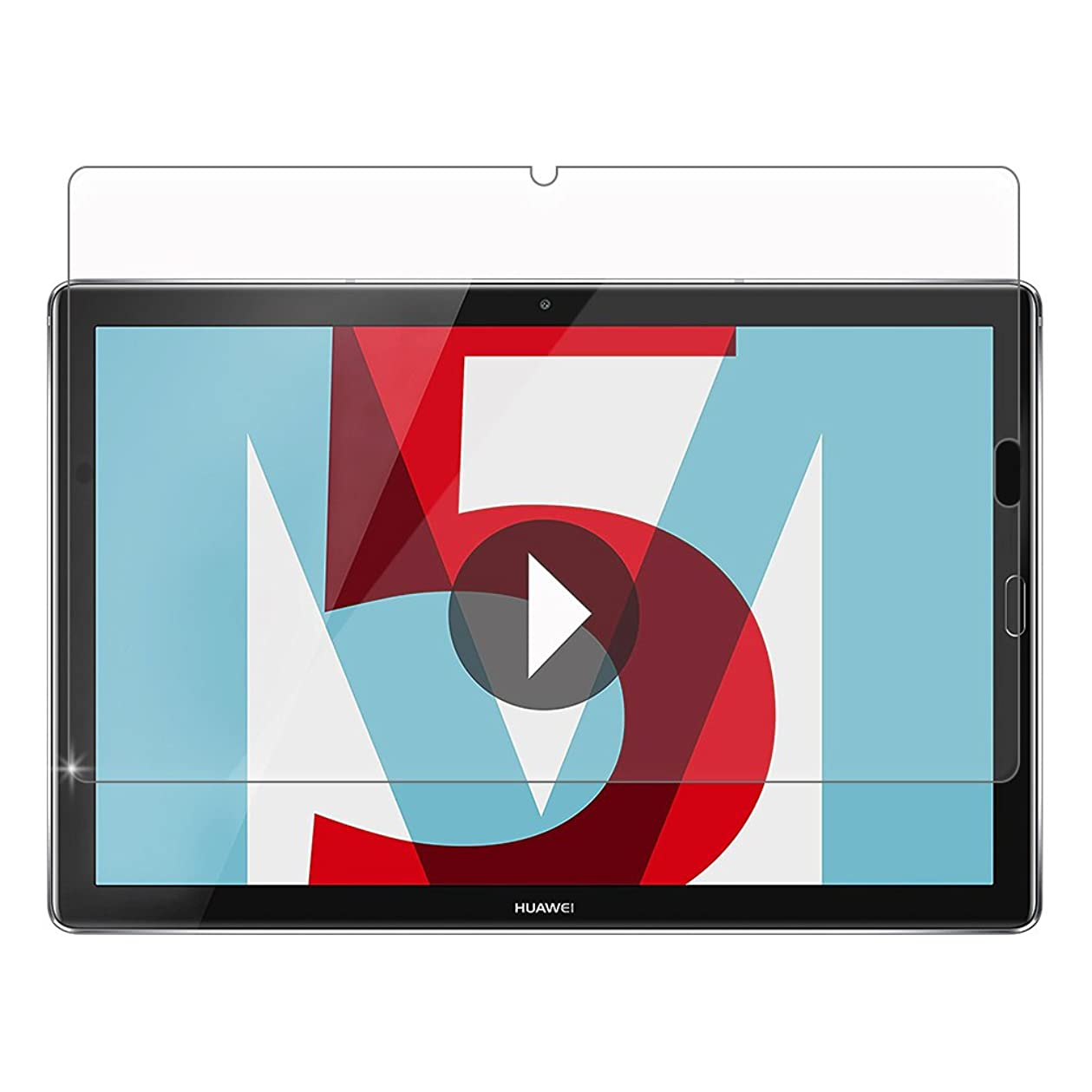 ソフトウェアベイビーセットアップGosento MediaPad M5 10.8 フィルム Huawei M5 10.8 2.5Dラウンドエッジ加工 日本旭硝子素材AGC 高透過率 強化ガラスフィルム 硬度9H Huawei MediaPad M5 Pro 10.8 対応