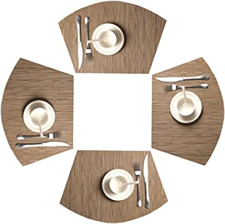 outdoor placemats round tables