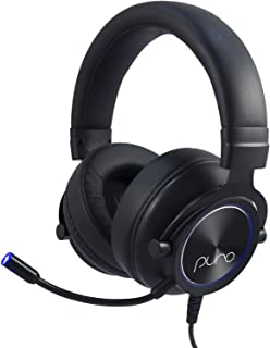 Puro Sound Labs PuroGamer Gaming Headset – Safer, Volume Limiting Wired Headphones for Kids and Adults with Dynamic Sound ...