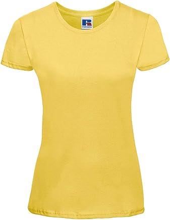 Russell Ladies Slim T Damen T-Shirt Slim-fit länger geschnitten R-155F-0