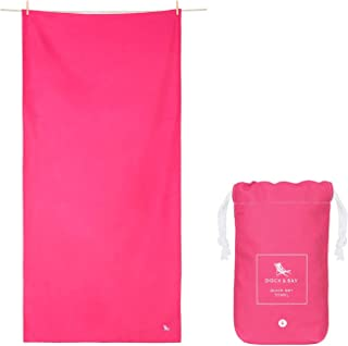 Microfibre Towel Backpacking Gear - Gym Towel & Workout Towel (Extra Large XL 78x35, Large 63x31, Small 40x20) for Travel,...