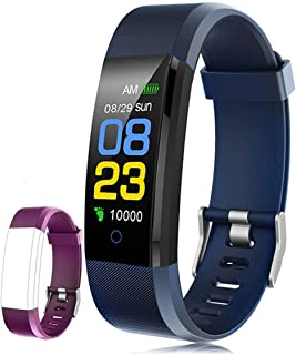 comprar comparacion F-FISH Fitness Tracker Waterproof, Activity Tracker Watch con monitor de ritmo cardíaco, banda inteligente con monitor de ...