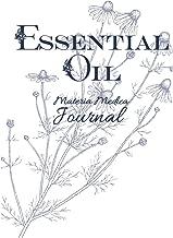 Essential Oil Materia Medica Journal