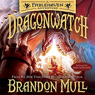 Dragonwatch audiobook cover art