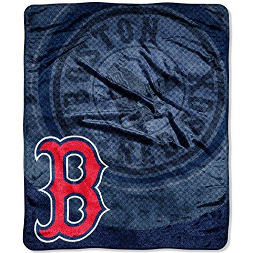 "MLB Boston Red Sox ""Retro"" Raschel Throw Blanket, 50"" x 60"""