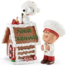 Department 56 Possible Dreams Snoopy's Gingerbread House Figurine, 7 inch