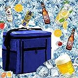 MEISHANG Cooler Bag Beach,Bolsa Nevera Portatil Termica,Bolsa Lsotermica para Picnic,Bolsa Nevera Portatil,Lunch Bag,Bolsa Comida Termica,Bolsa con Aislamiento
