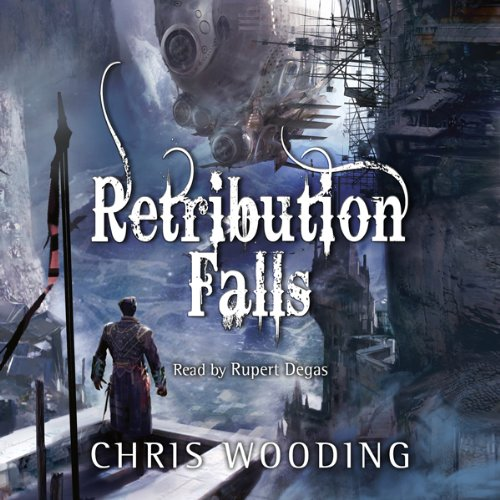 Retribution Falls audiobook cover art