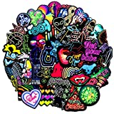 J TOHLO 100 pcs Graffiti Sticker Decals Wasserdicht Vinyls Aufkleber Pack...