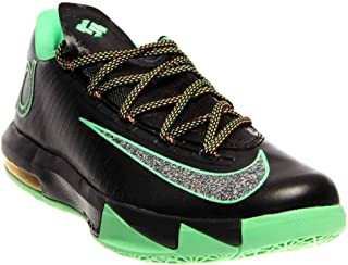 Nike KD VI (Night Vision-Brazil) Black/Lucid Green-Atomic Mango
