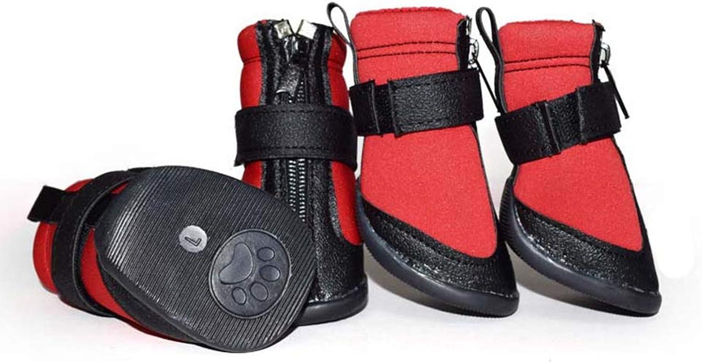Pet Dog shoes Boots,Winter Fashion Warm Snow Boots Waterproof NonSlip Bulldog Sports shoes
