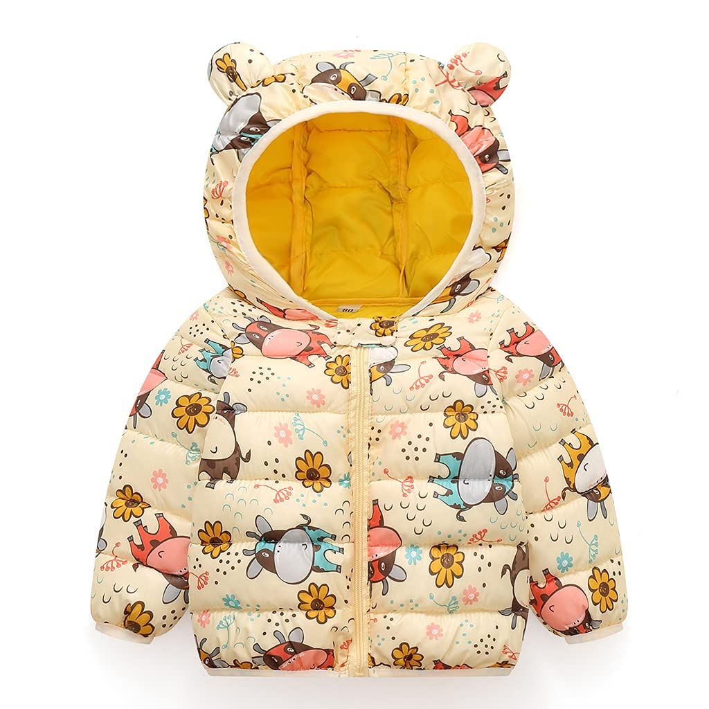 Baby Winter Jacket Coat Kids Padde Warm Puffer Ranking Ranking TOP1 integrated 1st place Hooded Ear