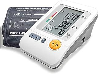 Zcthk Automático Brazo Superior Esfigmomanómetro Hogar inalámbrico inalámbrico Portátil Digital Pantalla de Cristal líquido Hipertensión por Tiempo Limitado Medidor de BP