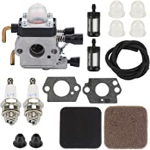C1q-S97 C1Q-S186 FS85 Carburetor for STIHL Hedge Trimmer HS75 HS80 HS85 HL75 HL75K FH75 HT70 HT75 KM80 KM85 KM85R SP80 SP85 FC75 FC85 String Trimmer Weedeater with Repair Kits
