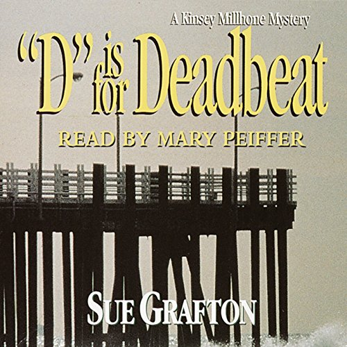 D is for Deadbeat audiobook cover art