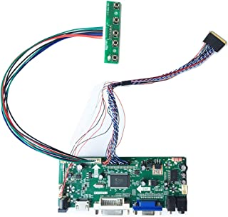 HDMI DVI VGA LCD Controller Board Monitor kit for 15.6 inch 1366X768 N156B6-L0B Screen
