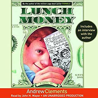 Lunch Money audiobook cover art