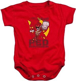 Children's Cartoon TV Series Go Go Red Ranger Baby Infant Snapsuit