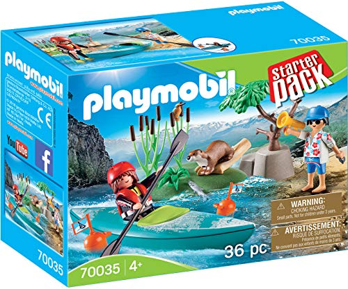 Playmobil 70035 Starter Pack Kanu-Training, kleurrijk