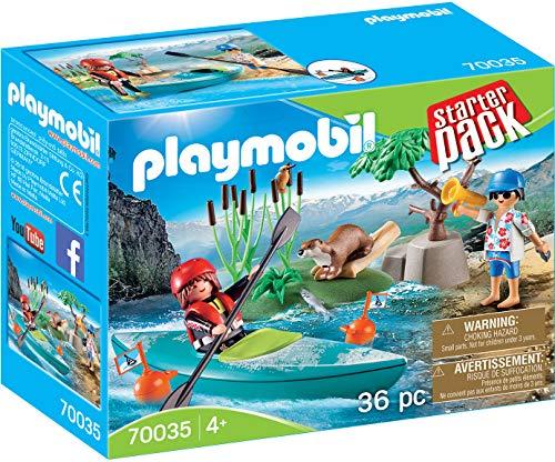 PLAYMOBIL-70035 StarterPack Aventura en Canoa, Multicolor (70035)