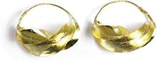 real gold fulani earrings