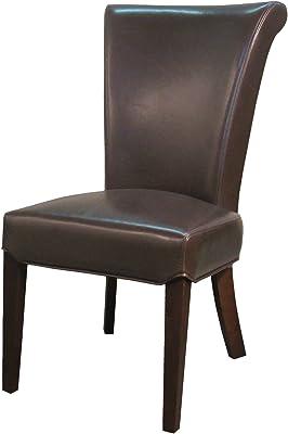 Prime Amazon Com Design Tree Home Adele Dining Chair In Brown Machost Co Dining Chair Design Ideas Machostcouk