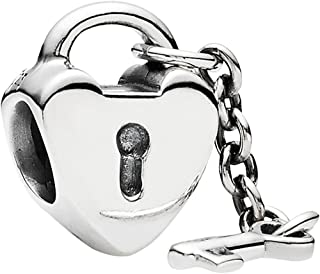 Key To My Heart Charm, 925 Sterling Silver, 790971