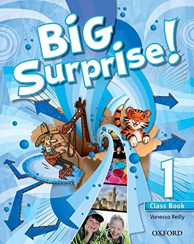 Big Surprise! 1. Class Book + Multi-Rom - 9780194516204