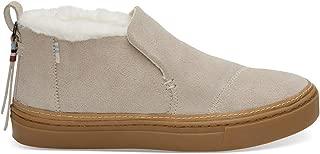 Women's Paxton Water-Resistant Slip-Ons Birch Suede/Faux Fur 8.5 B US