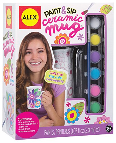Alex Craft Paint and Sip Ceramic Mug...