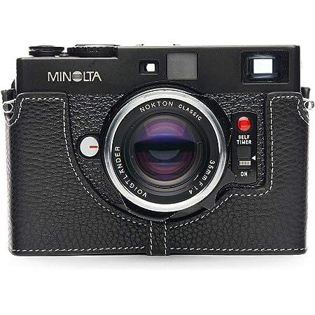 Handmade Genuine Real Leather Half Camera Case Bag Cover for MINOLTA X-700 X700