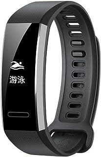 Maxku ファーウェイ HUAWEI Band 2 / Band 2 Pro バンド 交換ベルト 高級シリコンベルト 通気穴設計 柔軟でスポーツ仕様 多色選択 接続工具付く(ブラック)