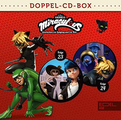 Miraculous - Geschichten von Ladybug und Cat Noir - Doppel-CD-Box (Folgen 23 + 24)