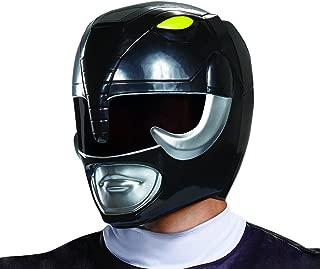 Disguise Men's Black Ranger Adult Helmet