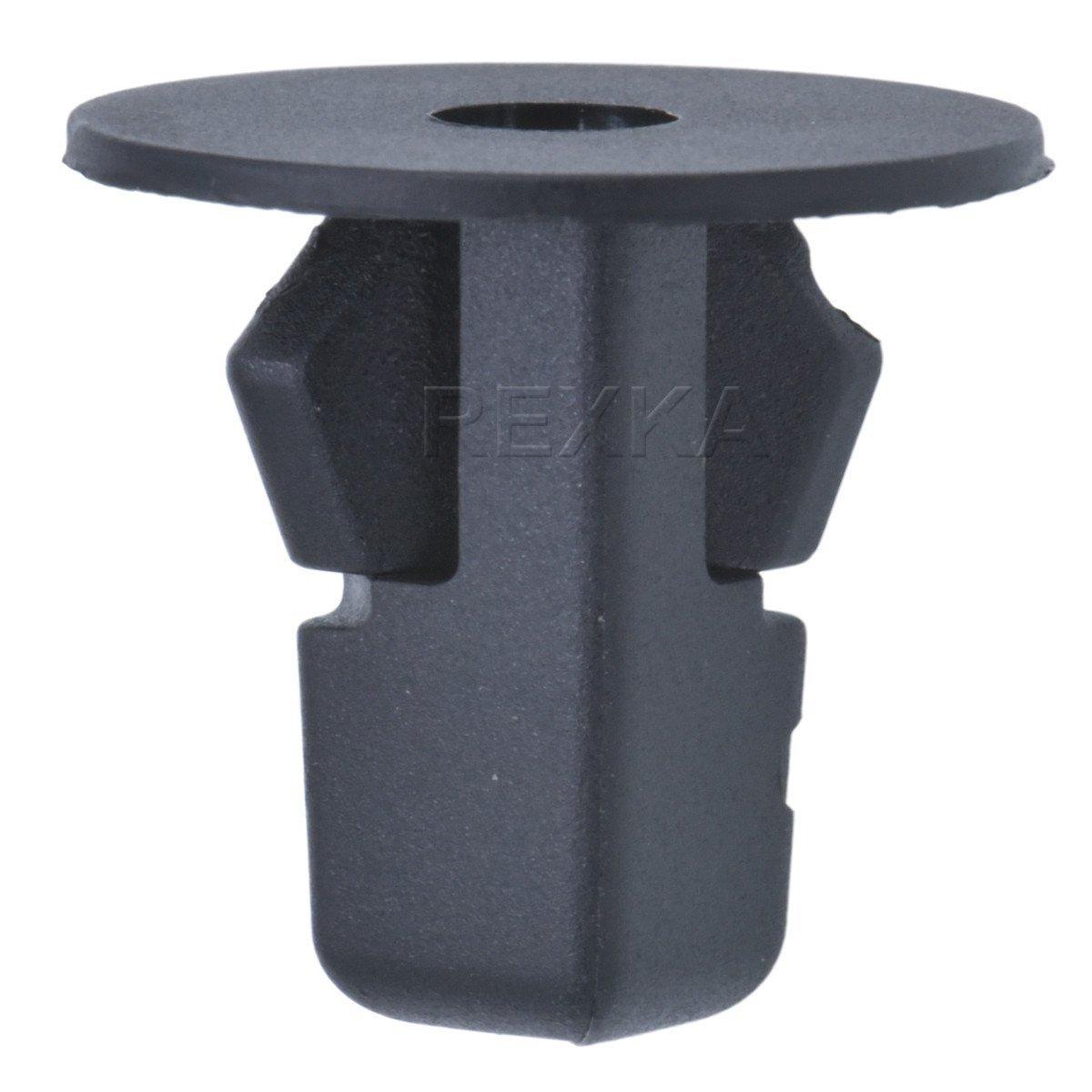 Lantee 10 Pieces Trim Door Panel Retainer Clips for Toyota 90467-10188