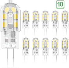 Phoenix-LED G4 LED-lampen, 2W Vervang 10W-25W halogeenlampen, flikkervrij, warm wit 3000K, AC / DC 12V, niet-dimbaar, spaa...