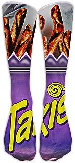 15.74in Unisex Takis Unique Design High Socks Leg Warmers Football Aseball For Men Women