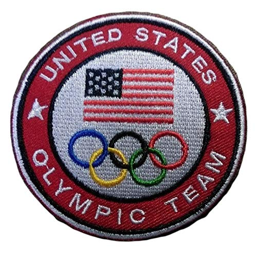 World Champions Patch Game United States Team USA Sports Embroidered Iron Sew On Patch Badge