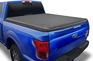Tyger Auto T1 Soft Roll Up Truck Bed Tonneau Cover for...