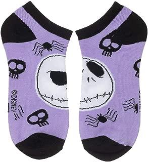 Nightmare Before Christmas Ankle Socks - 5-Pack